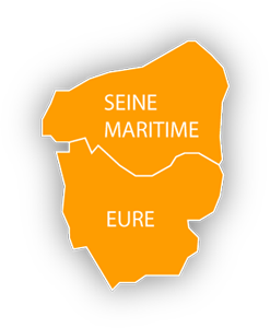 carte Haute Normandie